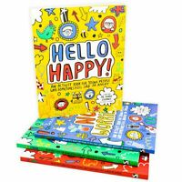 Mindful Kids 4 Activity Books Collection Set Pack for Young People - NEW