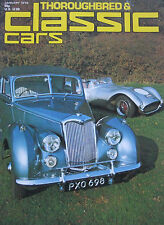 Classic Cars magazine 01/1976 HMW-Jaguar, Riley RM, Alfa Romeo, Itala