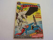 Superman Comic #249 March 1972 1St Terra-Man Neal Adams Art Fine+