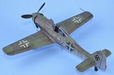 "1/48 Tamiya Fw190D-9 ""Black 12"" BUILT AND PAINTED"