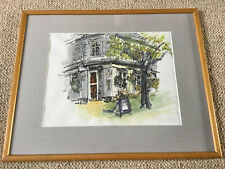 Artist Renate Melinsky NND ATD MSDC Watercolour The Red Lion Bishopgate Norwich