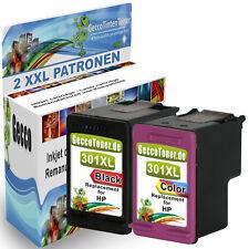 2x Patronen für HP 301 XL Deskjet 1000 1010 1510 2510 2514 2540 2542 2544 2550