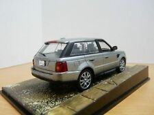 Diorama RANGE ROVER SPORT L322 James Bond Film QUANTUM OF SOLACE 1/43