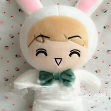 KPOP EXO OhSeHun Goods SEHUN White Rabbit Fans Plush Toy Stuffed Doll Handmade
