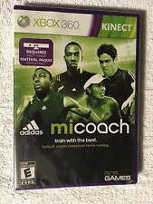 Mi Coach by Adidas Xbox 360 Video Game (Brand New Sealed)