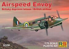 RS Models 1/72 Model Kit 92250 Airspeed Envoy