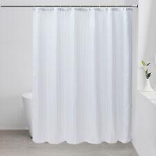"Fabric Bathroom Shower CurtainWith Hooks Curtain Liner 72""x72"" Us Stock"