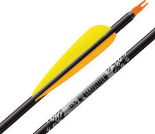 "Easton Gamegetter XX75 340 Arrows Factory Fletched w/ 4"" Vanes 6 Pack"