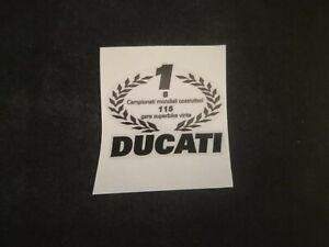1 Adhesive Ducati 748 916 996 998 R S Tamburini Champion SBK On Base Transparent