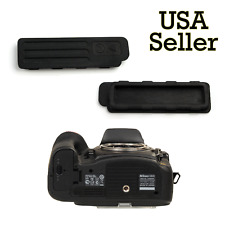 CAMERA BOTTOM RUBBER TERMINAL CAP COVER REPAIR PART for Nikon D800 D800E D810