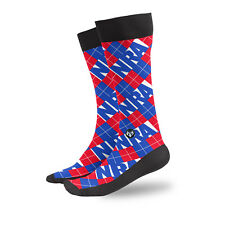 NRA National Rifle Association Argyle Plaid Checkered USA Athletic Socks 3018