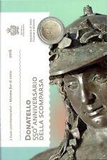 2 Euro Commémorative de Saint-Marin 2016 Brillant Universel (BU) - Donatello