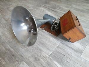 phonographe Pathé 0 chante haut et clair
