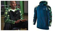 Nike Kobe Bryant Emerge Hyper Elite Full Zip Hoodie Men's Size M Therma Fit Rare