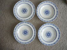 SET OF 5 ANTIQUE MINTONS DINNER PLATES/ 'KERRY' PATTERN/ LATE 1800'S