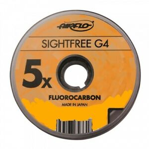 Airflo G4 Sightfree Line Tippet Material for Trout Fly Fishing