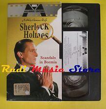 film VHS cartonata SHERLOCK HOLMES Scandalo in boemia MALAVASI 2002(F37*)*no dvd