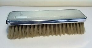 Vintage silver Engine turned  Clothes Brush Art Deco William Griffiths 1937