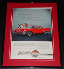 1959 Chrysler 300 E 11x14 Framed ORIGINAL Vintage Advertisement Poster