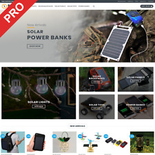 Turnkey Dropshipping Business - SOLAR GADGETS - Professional eCommerce Store