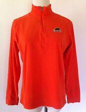 COLUMBIA Womens Orange SOFT Fleece OSU BEAVERS Long Sleeve Pullover Sweater L