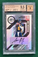 Aaron Rodgers AUTO rookie card RARE #d /125 - 2005 Elite Packers autograph RC