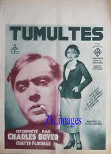 TUMULTES FLORELLE BOYER Siodmak UFA Cinema 1931
