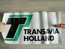 STICKER,DECAL TRANSAVIA HOLLAND AIRLINE VLIEGMAA BIG SIZE STICKERS ARE ROLLED UP