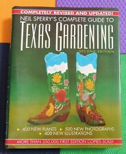 Texas Gardening large hardback Neil Sperry'S Complete Guide to Tx Garden plants