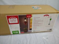 4' Pre-Lit Victorian Lamp Post Christmas Winter Holiday Decoration NIB