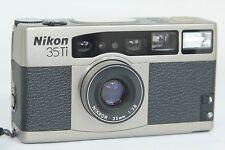 SUPERB Nikon 35Ti 35 TI Point&Shoot Film Camera NIKKOR 35/2.8 CHECKED WITH FILM!