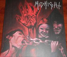 Midnight - No Mercy For Mayhem LP - Splatter Vinyl / New RE (2012) Black Metal