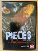 Pezzi DVD 1983 Gory Cult Spagnolo Horror Film Con Christopher George