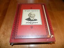 THE COMPLETE PELICAN SHAKESPEARE Shakespearean Study Literature Book Set NEW