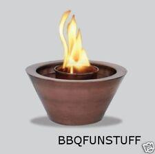 Uni Flame Antique Copper Finish Gel Firebowl AAB606A-AC
