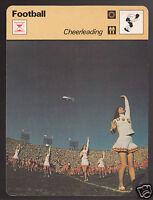 CHEERLEADING USC NCAA Football Cheerleaders Photo 1978 SPORTSCASTER CARD 42-24