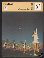 CHEERLEADING USC NCAA Football Cheerleaders Photo 1978 SPORTSCASTER CARD 42-24