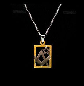 pendentif fenêtre du symbole en metal franc maçon maçonnerie 3623 B1