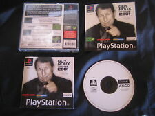 GUY ROUX MANAGER 2001 : JEU Sony PLAYSTATION PS1 / PS2 (football COMPLET suivi)