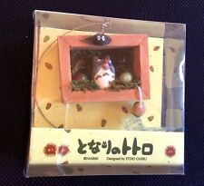 My Neighbor Totoro Mini Shadowbox w/Suction Resin Scene NEW Ghibli Studio Japan