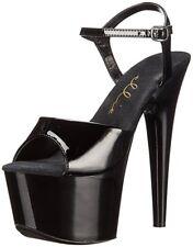 Ellie Shoes 711 - Flirt Black Platform Heels Size 7