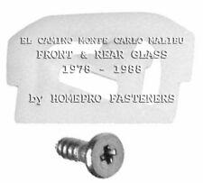 78-88 EL CAMINO MONTE CARLO MALIBU WINDSHIELD & REAR GLASS CLIPS  45