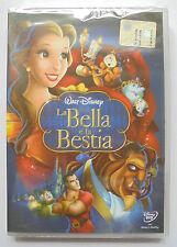 DVD LA BELLA E LA BESTIA W.DISNEY EDIZIONE SPECIALE NUOVO SIGILLATO VERS ITALIA