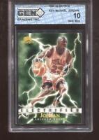 Michael Jordan 1995-96 Skybox #278 Electrified HOF Chicago Bulls GEM MINT 10