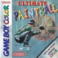 Nintendo GameBoy Color Spiel - Ultimate Paintball mit OVP NEUWERTIG