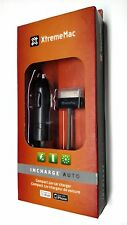 XtremeMac InCharge 2.1Amp / 10Watt (Fast) CarCharger for iPhone 4S 4 3GS iPod