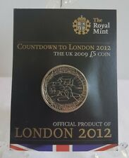 Countdown to London 2012 £5 Coin Card/Pack - 2009 - 3 Years to Go - Royal Mint