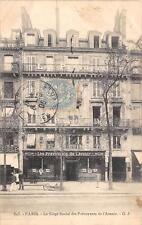 CPA 75 PARIS LE SIEGE SOCIAL DE L'AVENIR