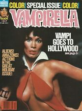 VAMPIRELLA 67 (WARREN 1978) VFN BARBARA LEIGH PHOTO CVR NINO HEATH MAROTO art