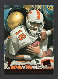 1998 Press Pass Peyton Manning Red Parallel Rookie Card #1 - Hall of Fame